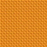 Orange cloth texture Stock Photography