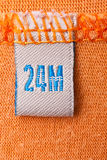 Orange clothing Royalty Free Stock Photo