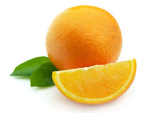 Orange  clouse up Stock Image