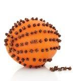 Orange and Clove Pomander Royalty Free Stock Photos