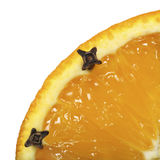 Orange and cloves Stock Photography