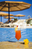 Orange cocktai stockbilder