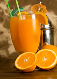Orange Cocktail Royalty Free Stock Images