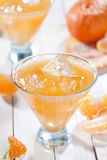 Orange cocktail Royalty Free Stock Image