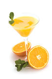 Orange cocktail Stock Photography