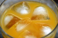 Orange cocktail Stock Photography