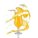 Orange cocktail Stock Photo