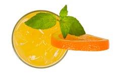 Orange cocktail Stock Images