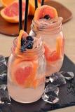 Orange cocktail. Stock Image