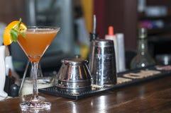 Orange Cocktail. Stock Photos