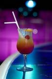 Orange cocktail stock image