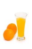 Orange cocktail isolated Stock Photography