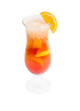 Orange cocktail  isolated Royalty Free Stock Photography