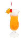 Orange cocktail  isolated Stock Photography