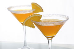 Orange cocktails and citrus 2 Royalty Free Stock Photography