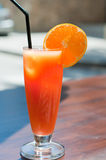 Orange coctail Royalty Free Stock Image