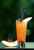 Orange coctail Lizenzfreies Stockfoto