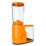 Orange Coffee Grinder. 3d Rendering Stock Photo
