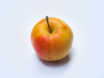 Orange color apple Royalty Free Stock Photography