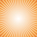 Orange color burst background. Royalty Free Stock Photos