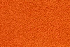 Orange Color Fabric Texture Stock Photo