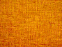 Orange color fabric texture. For using as background Royalty Free Stock Photo