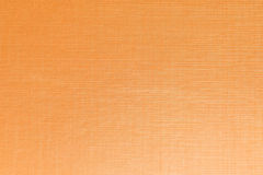 Orange color gradient plastic texture background. Royalty Free Stock Image