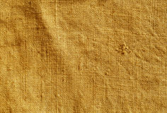 Orange color hessian sack cloth pattern. Stock Images