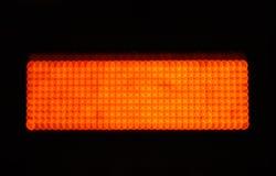Orange color lights Stock Image