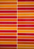 Orange color mosaic tiles background Stock Photography