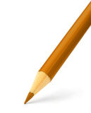 Orange color pencil Royalty Free Stock Image