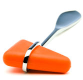Orange Color Reflex Hammer Stock Image