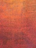Orange colored canvas texture for interesting and creative backgrounds. vector illustration