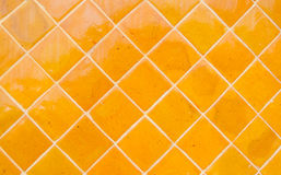 Orange colorful tile background Stock Photos