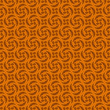 Orange Colors pinwheel Pattern. Stock Photography
