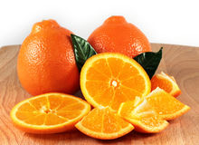 Orange composition Royalty Free Stock Photography
