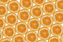 Orange composition Stock Images