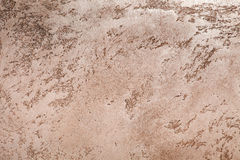 Orange concrete plaster wall background Stock Photography
