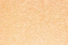 Orange concrete wall Stock Image