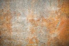 Orange concrete wall Royalty Free Stock Photography