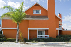 Orange Condo Stock Image