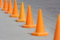 Orange cone Royalty Free Stock Photos