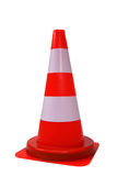 Orange cone isolated Stock Photos