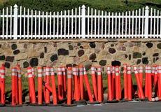 Free Orange Construction Pylons Stock Photos - 18828603