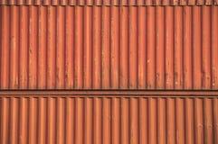 Orange Container Royalty Free Stock Photo
