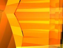 Orange contrast box 9 Stock Photography