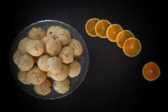 Orange Cookies Stock Images