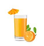 Orange Cool Cocktail Royalty Free Stock Image