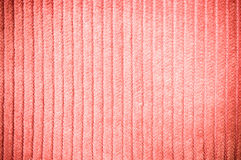 Orange corduroy texture in vintage style Stock Photos