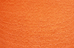 Orange cotton texture Royalty Free Stock Images